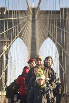 Nueva York en familia. Puente de Brooklyn. Puente de Brooklyn