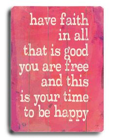 Have Faith Wall Art by ArteHouse....i absolutely love this!!! Def will be making one for my home!!! :)