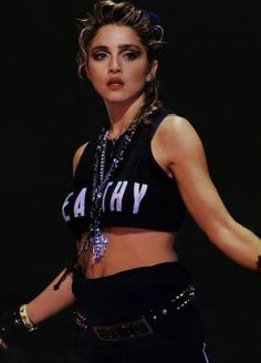 Check out Madonna @ Iomoio 1980s Madonna, Madonna Rare, Lady Madonna, Madonna Vogue, Madonna Fashion, 80s Fashion, Disco Fashion, Fashion History, Womens Fashion