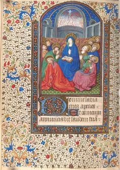 Hours, Use of Paris, Pentecost (1440-1460) NYPL Digital Library
