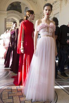 Giambattista Valli at Couture Fall 2017 - Backstage Runway Photos