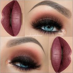 """Classic smokey eye using all @makeupgeekcosmetics @makeupgeektv Shadows! I hope you guys love it you all are so sweet to me! Here are the comets details: Foundation: @toofaced Born This Way. Primer: @ofracosmetics Silicone Primer. Brows: @anastasiabeverlyhills Brow Wiz in """"Dark Brown"""" Eyeshadows: base is @nyxcosmetics black eyeshadow base... @makeupgeekcosmetics """"Peach Smoothie"""" """"Cocoa Bear"""" """"Bitten"""" """"Corrupt"""" and """"In The Spotlight"""". Lashes: @sweetheartlashes in """"Bella"""" Waterline…"""