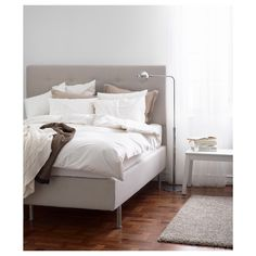 BEKKESTUA Divan bed - Hesseng/firm natural colour - IKEA