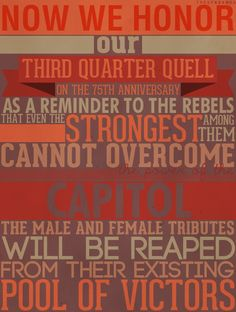 Even the strongest among them cannot overcome the power of the capitol
