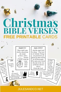 Enjoy these classic printable Christmas Bible verses for preschoolers and kids this season. These lovely printable cards will help teach your child the true Christmas story. Even little children can learn about the heart of Christmas with this simple Christmas Bible verse printable! #Christmas #nativity Christmas Bible Verses, Bible Verses For Kids, Printable Bible Verses, Christmas Nativity, A Christmas Story, Simple Christmas, Free Printable Cards, Free Printables, Conversation Starters For Kids
