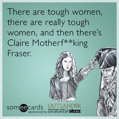 This Sassenach is in a league of her own. Take a look at other #Outlander Ecards here: http://some.ly/1FHS5Ot