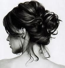 I like the effortless bun. It is my go to look and it goes beautifully with a vintage based clothing style.
