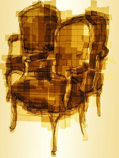 Des tableaux avec du scotch d'emballage - 2Tout2Rien