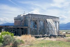 This Earthship was created from bottles, tires and concrete. Photo credit: IrinaK / Shutterstock.com