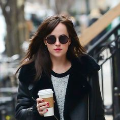Dakota Johnson Says Goodbye to Anastasia Steele With a New Bob: We were big fans of Dakota Johnson's perfect ponytail, and we know that it served her well for her role as Anastasia Steele in Fifty Shades of Grey (long hair is ideal for a little naughty pulling).