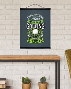 Mens The Only Thing I Love More Than Golfing Is - Charcoal Grey golf gift ideas, golf spectator, golf ornament #golfcourse #softball #tennis, dried orange slices, yule decorations, scandinavian christmas Gifts For Golfers, Golf Gifts, Arnold Palmer Golfer, Xmas Gifts, Diy Gifts, Adam Scott Golfer, Golf Tournament Gifts, Golf Training Aids, Hanging Canvas