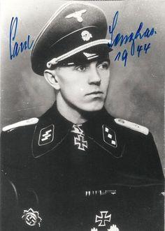 "✠ Paul Senghas (31 January 1916 – 6 November 1996) RK 11.12.1944 SS-Obersturmführer Führer 1./SS-Pz.Rgt 5 ""Wiking"""