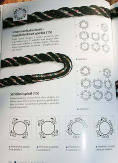 Lucet, Embroidery Floss Crafts, Macrame Bracelet Patterns, Card Weaving, Paracord Projects, Art N Craft, Bracelet Tutorial, Bead Crochet, Friendship Bracelets