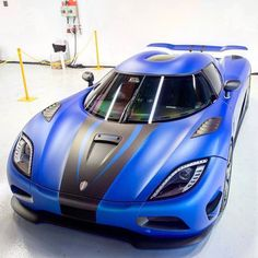 Koenigsegg Agera S painted in Matte Blue w/ Matte Black accents  Photo taken by: @junxiangphotos on Instagram