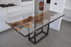Wooden table WALNUT by ANTICO TRENTINO DI LUCIO SEPPI