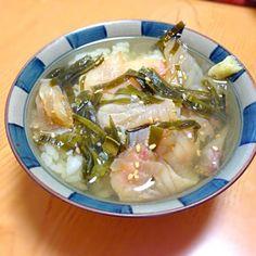 父が釣ってきた鯛でのお茶漬けです - 11件のもぐもぐ - 鯛茶漬け by kaibutsukun