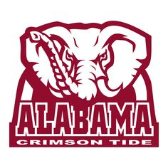 University of Alabama Crimson Tide Elephant Graphics SVG Dxf EPS Png Cdr Ai Pdf Vector Art Clipart instant download Digital Cut Print File by VectorartDesigns on Etsy
