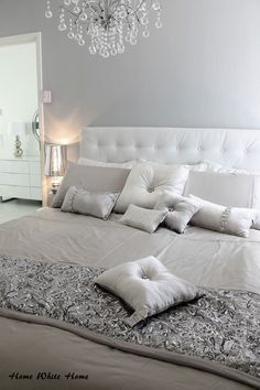 Kylie at Home bedding. <3 Home White Home