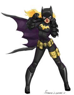 Pinup Arena   Batgirl   By Scotland D. Barnes