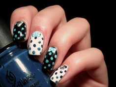 Colourize Me: #31DC2014 | Day 11 - Polka Dots