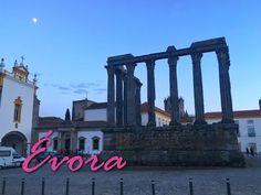 Capela dos Ossos, Templo Romano e monumentos Pré históricos! Guia de viagem e dicas de Turismo em Évora, na região do Alentejo - Portugal.