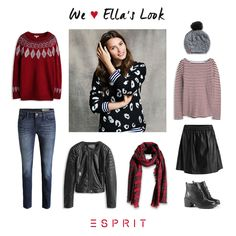 We <3 Ella's #casual and #urban #look. Here are a few favorite and inspired pieces from our #EverydayAmazing muse Ella.