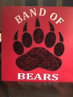 Band of bears string art