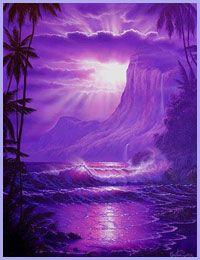 purple sunset | purple sunset