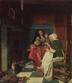 Cornelis de Man: Schachspieler