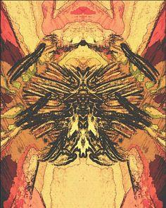 """Spirit Animal"" graphic art by Christina Hladnik"