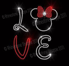 Rhinestone ideas - Disney