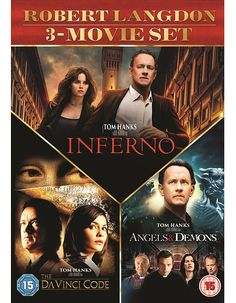 Pre-order The Latest Films Coming Soon like The Da Vinci Code/Angels and Demons/Inferno 3 Movie Set on DVD at Xtra-visionhttp://tidd.ly/93a31e43