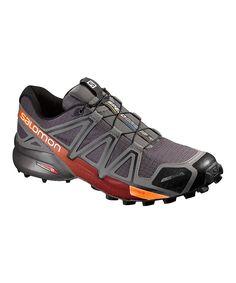 3d1d0aa2da0 Salomon Autobahn & Vivid Orange Speedcross 4 CS Running Shoe - Men