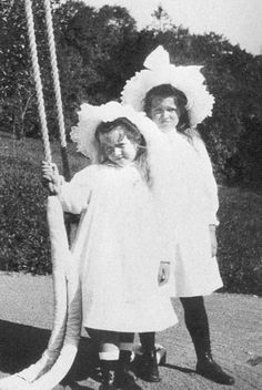 Grand Duchesses Anastasia and Maria Nikolaevna