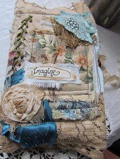 Vintage Fabric Journal - Imagine | by suziqu