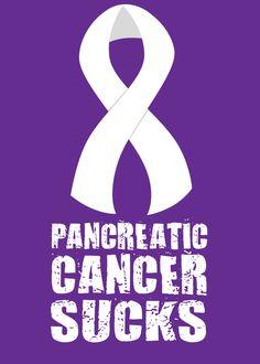 Pancreatic Cancer Sucks by Ray Hansen, via Behance