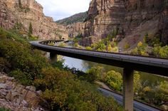 I-70 through Glenwood Canyon Been here but want to go back, beautiful!