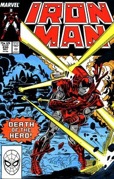Cover for Iron Man May 1988 #230 Marvel