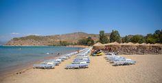 the organized beach of Karathona ... Nafplio, Argolida