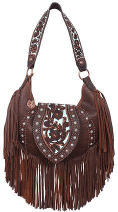 Double J fringed purse