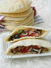Dr Ola's kitchen: Pita bread. Pitabrot. خبز البيتا