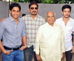 """Akkineni Family prestigious movie """"Manam"""" shooting is running continuously. Akkineni Nageswar Rao, Nagarjuna, Naga Chaitanya all are acting together in this movie. Nagrjuna fans and Tollywood movie lovers will definitely enjoy watching the movie in theatres.  The movie it's in final stage of shooting."""