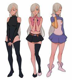 Chica Anime Manga, Otaku Anime, Anime Naruto, Kawaii Anime, Elizabeth Seven Deadly Sins, Seven Deadly Sins Anime, 7 Deadly Sins, Meliodas And Elizabeth, Elizabeth Liones