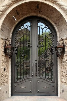 OLD WORLD DOORS — Colletti Design #LandscapeArquitecture