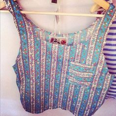 indie fashion crop tank. Super trendy and cute. Discover products you love at getrockerbox.com