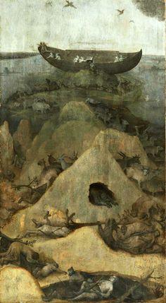 Hieronymus Bosch, The Flood.