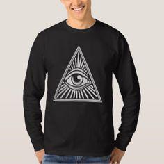 Illuminati - All Seeing Eye Long Sleeve T-Shirt