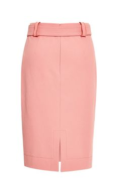 Carnation Belted Patch Pocket Skirt by Derek Lam 10 Crosby for Preorder on Moda Operandi