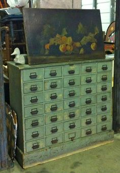 primitive drawers