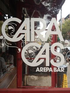 Maybe even have a second lunch, this time Venezuelan-style at Caracas Arepa Bar